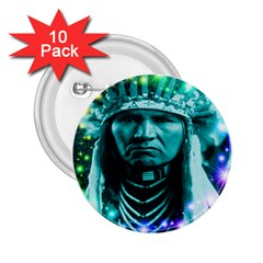 Magical Indian Chief 2 25  Button (10 Pack)