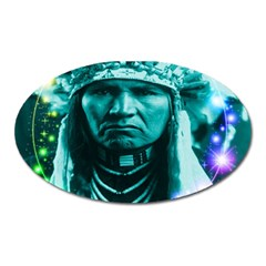 Magical Indian Chief Magnet (oval)