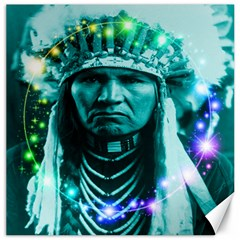Magical Indian Chief Canvas 12  X 12  (unframed)