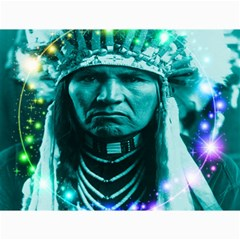 Magical Indian Chief Canvas 18  X 24  (unframed)