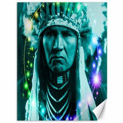 Magical Indian Chief Canvas 36  x 48  (Unframed)