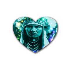 Magical Indian Chief Drink Coasters (heart)