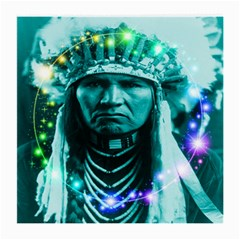 Magical Indian Chief Glasses Cloth (medium, Two Sided)