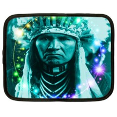 Magical Indian Chief Netbook Sleeve (large)
