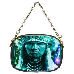 Magical Indian Chief Chain Purse (two Sided)