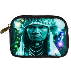 Magical Indian Chief Digital Camera Leather Case