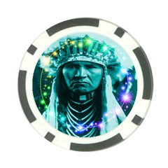 Magical Indian Chief Poker Chip (10 Pack)