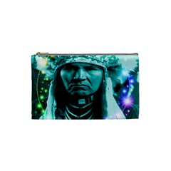 Magical Indian Chief Cosmetic Bag (small)
