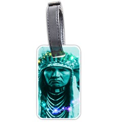 Magical Indian Chief Luggage Tag (two Sides)