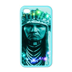 Magical Indian Chief Apple Iphone 4 Case (color)