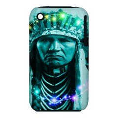 Magical Indian Chief Apple Iphone 3g/3gs Hardshell Case (pc+silicone)