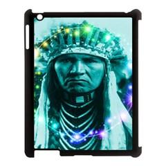 Magical Indian Chief Apple Ipad 3/4 Case (black)