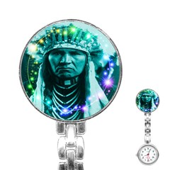 Magical Indian Chief Stainless Steel Nurses Watch