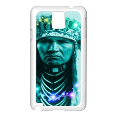 Magical Indian Chief Samsung Galaxy Note 3 N9005 Case (White)