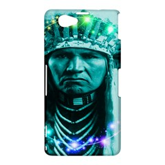 Magical Indian Chief Sony Xperia Z1 Compact Hardshell Case