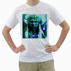 Magical Indian Chief Men s T-Shirt (White)