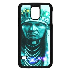 Magical Indian Chief Samsung Galaxy S5 Case (black)