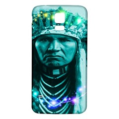 Magical Indian Chief Samsung Galaxy S5 Back Case (white)