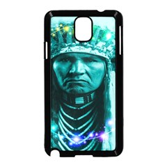 Magical Indian Chief Samsung Galaxy Note 3 Neo Hardshell Case (Black)