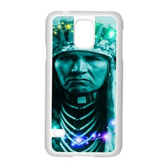 Magical Indian Chief Samsung Galaxy S5 Case (White)