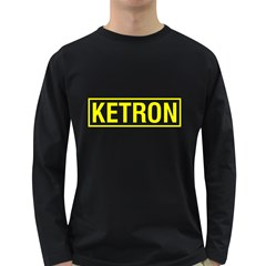Ketron Synthesizer Yellow Men s Long Sleeve T Shirt (dark Colored)