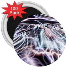 Solar Tide 3  Button Magnet (100 Pack)