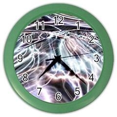 Solar Tide Wall Clock (color)