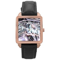 Solar Tide Rose Gold Leather Watch