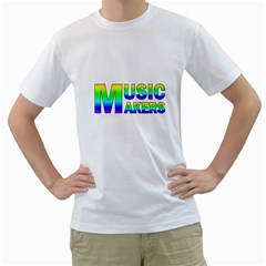 Music Makers(vt) Men s T-Shirt (White)