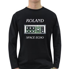 Roland Space Echo Men s Long Sleeve T Shirt (dark Colored)