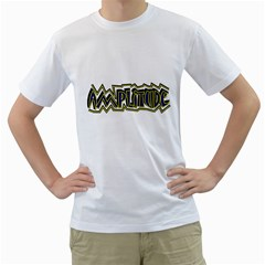Amplitude Cool Men s T-Shirt (White)