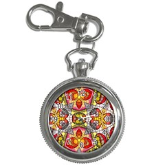 Crazy Lip Abstract Key Chain Watch