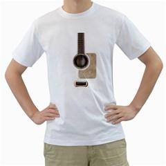 Wonderful Acoustic Guitar Parts Men s T-Shirt (White)