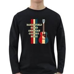 Bakersfield Sound American Men s Long Sleeve T Shirt (dark Colored)
