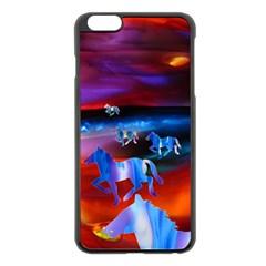 j pluke by saprillika Apple iPhone 6 Plus Black Enamel Case