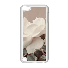 White Rose Vintage Style Photo In Ocher Colors Apple Ipod Touch 5 Case (white)
