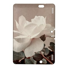 White Rose Vintage Style Photo in Ocher Colors Kindle Fire HDX 8.9  Hardshell Case