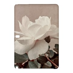 White Rose Vintage Style Photo in Ocher Colors Samsung Galaxy Tab Pro 10.1 Hardshell Case