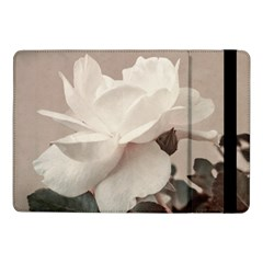 White Rose Vintage Style Photo in Ocher Colors Samsung Galaxy Tab Pro 10.1  Flip Case