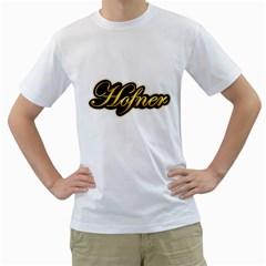 Hofner Guitars Vintage Gold  Men s T-Shirt (White)