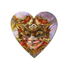Star Clown Magnet (heart)