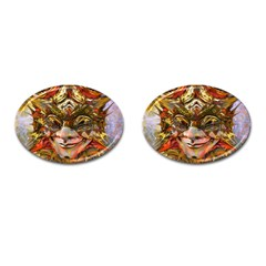 Star Clown Cufflinks (oval)