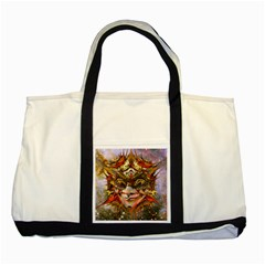 Star Clown Two Toned Tote Bag
