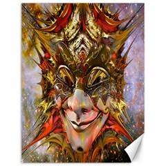 Star Clown Canvas 12  X 16  (unframed)