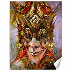 Star Clown Canvas 36  x 48  (Unframed)
