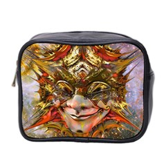 Star Clown Mini Travel Toiletry Bag (two Sides)