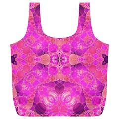 Beautiful Pink Coral  Reusable Bag (xl)