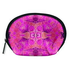 Beautiful Pink Coral  Accessory Pouch (medium)