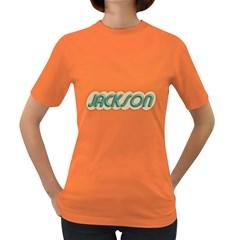 Jackson Guitars Vintage Women s T Shirt (colored)