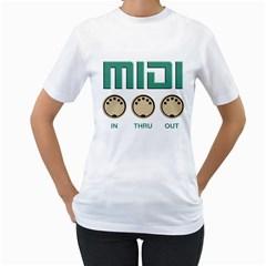 A Wonderful  Midi Vintage Women s T-Shirt (White)